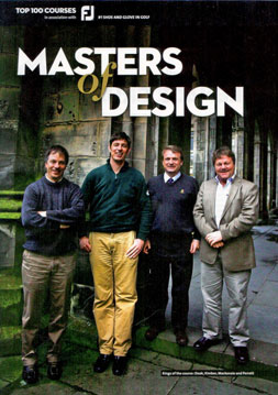 Masters of Design – Ross Perrett, Tom Doak, Paul Kimber and Tom Mackenzie interviewed by Golf Monthly, 2010